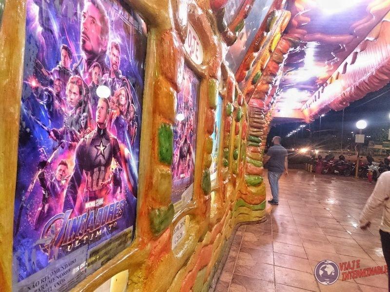 Costado cine Super K Boa Vista Brasil