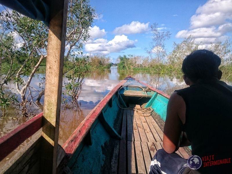 Cruzando la triple frontera Peru Colombia Brasil