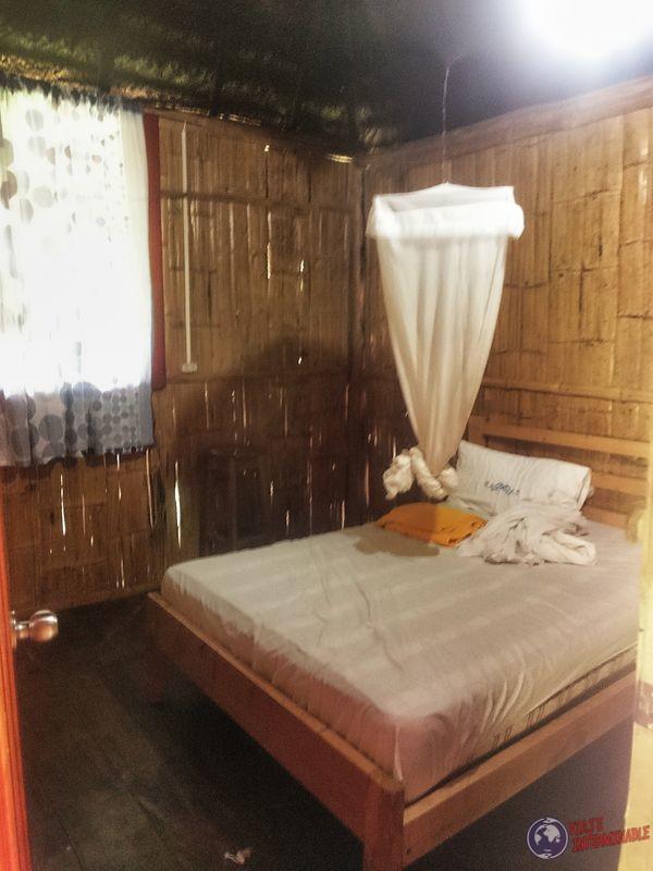 Cuarto reserva Huaorani Amazonas Pompeya Ecuador