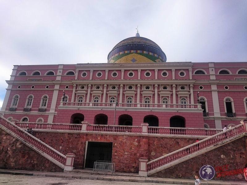 Cupula Teatro Amazonas Manaos Brasil