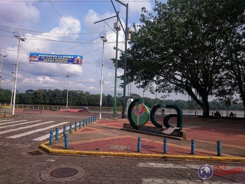 El coca Francisco de Orellana Ecuador