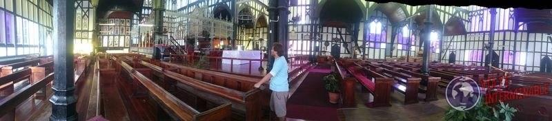 Iglesia Saint George panoramica Georgetown Guyana