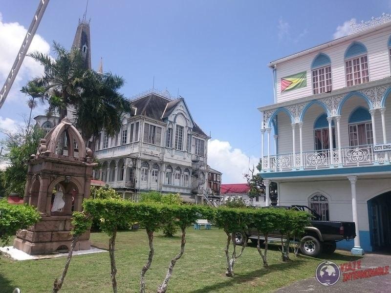 Iglesia escondida Georgetown Guyana
