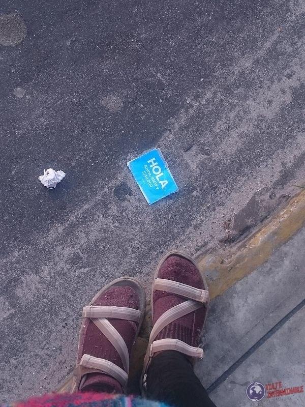 La calle me saluda Iquitos Peru