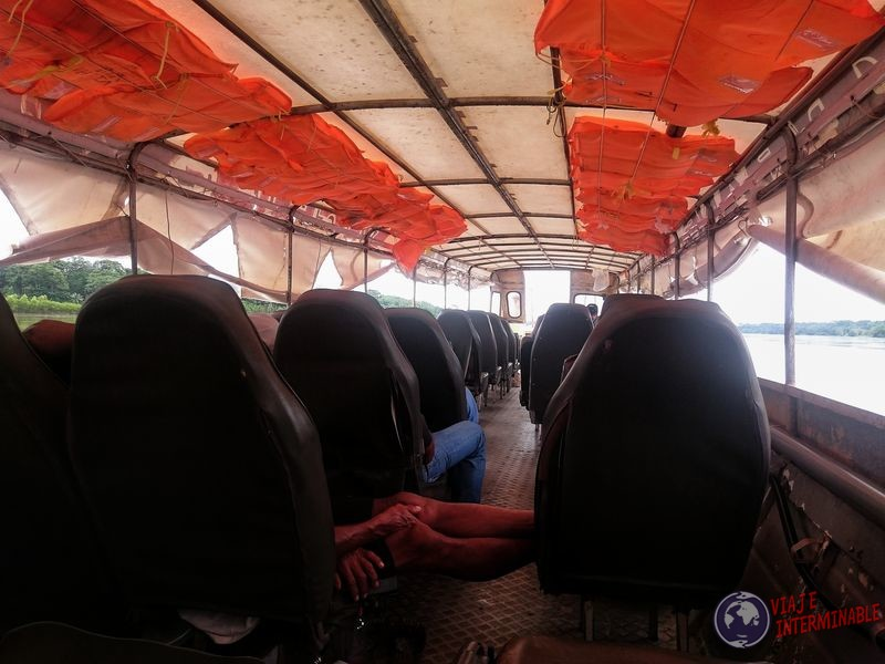 Lancha de Pantoja a Iquitos Peru Amazonas