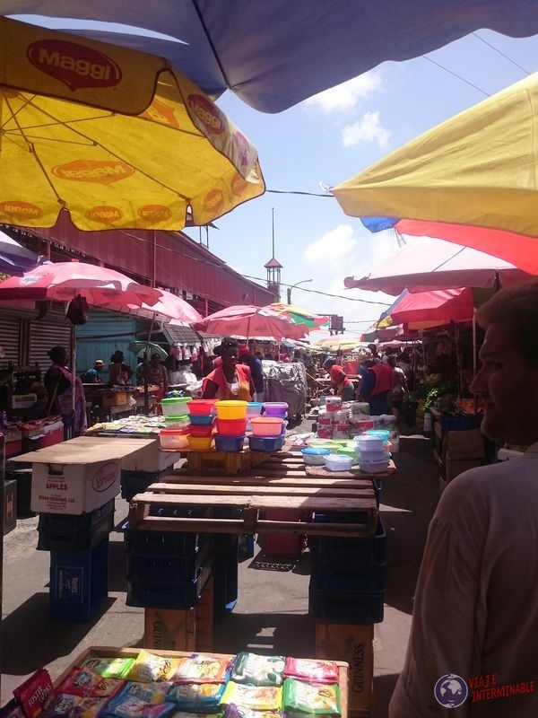Mercado Stabroek Georgetown Guyana