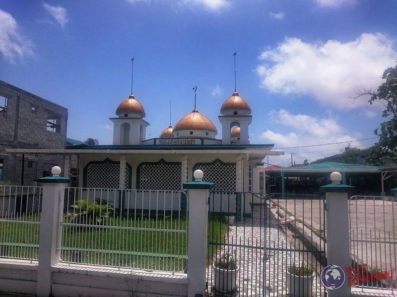 Mezquita de Georgetown por fuera Guyana