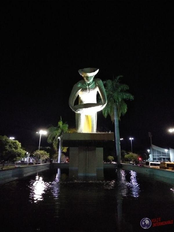 Monumento al Garimpeiro Boa Vista Brasil