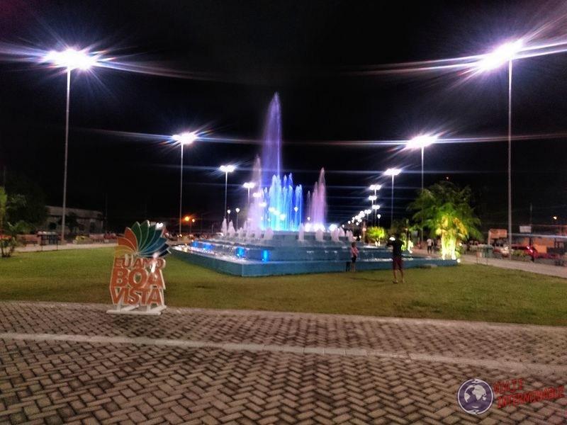 Parque de las aguas fuente Boa Vista