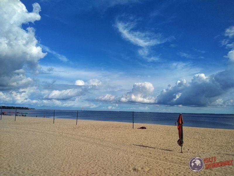 Playa de Punta Negra Manaos Brasil