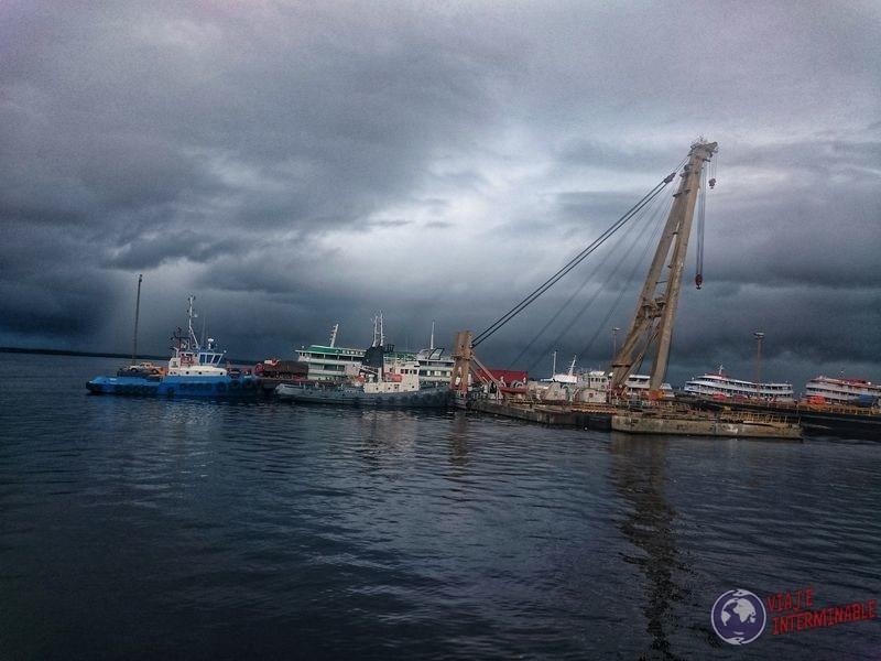 Puerto de Manaos Brasil