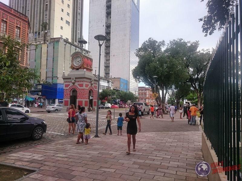 Reloj Municipal centro de Manaos Brasil