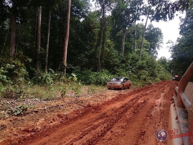 Ruta de tierra hacia Georgetown Guyana