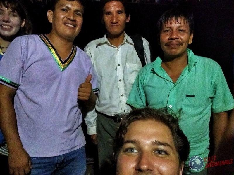 Waorani en reserva Pompeya Ecuador