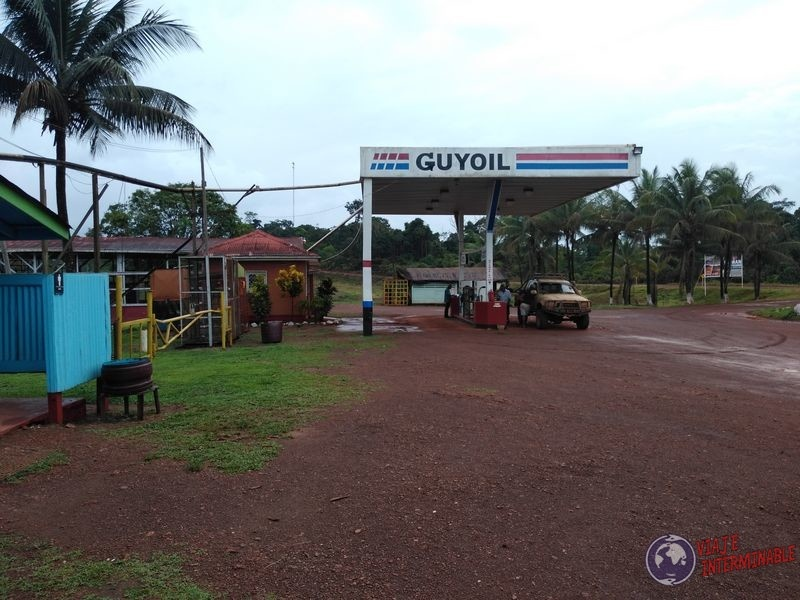 parador en ruta de guyana