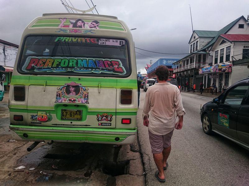 Buses de Paramaribo Surinam