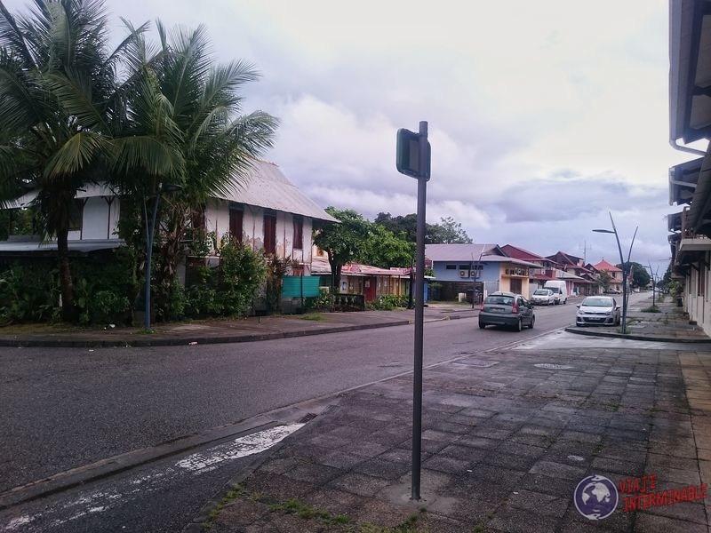 Calles de Kourou Guayana Francesa