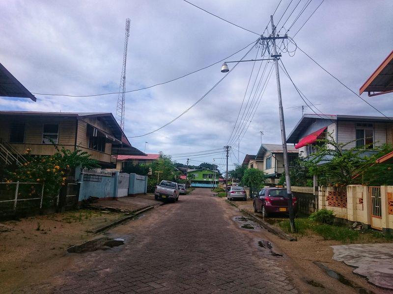 Calles de Surinam Paramaribo