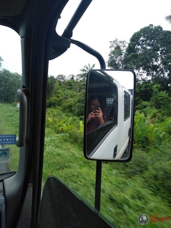 Camino a Kourou Guayana Francesa