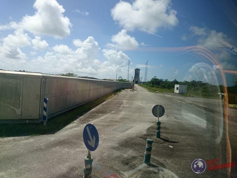 Casilleros Centro Espacial Kourou Guayana Francesa