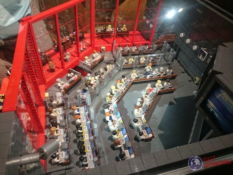 Centro control lego centro espacial kourou Guayana Francesa