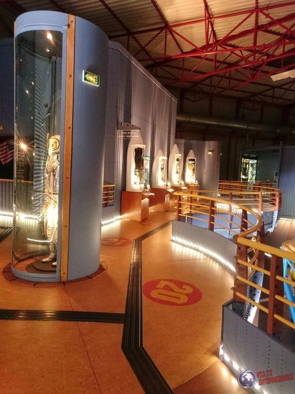 Centro espacial museo Kourou Guayana Francesa