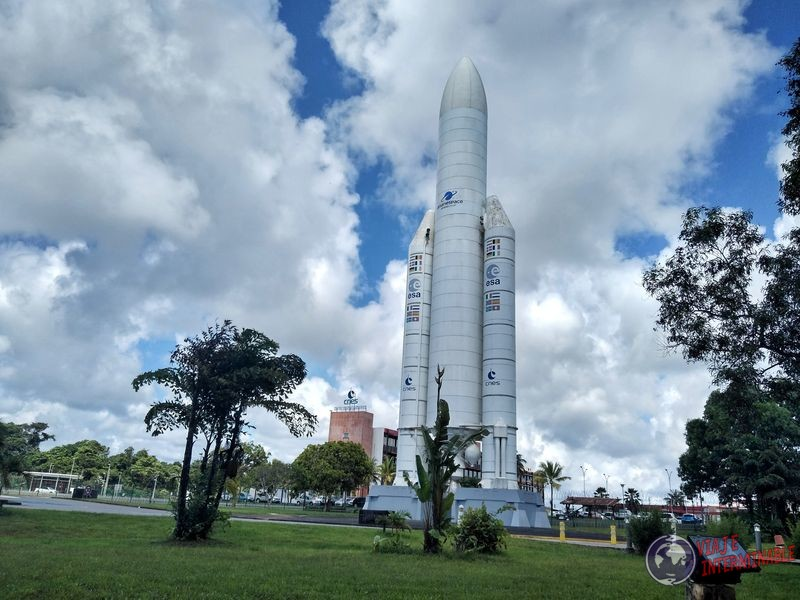 Cohete centro espacial kourou Guayana Francesa