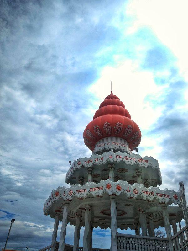 Cupula en templo hindú Paramaribo Surinam
