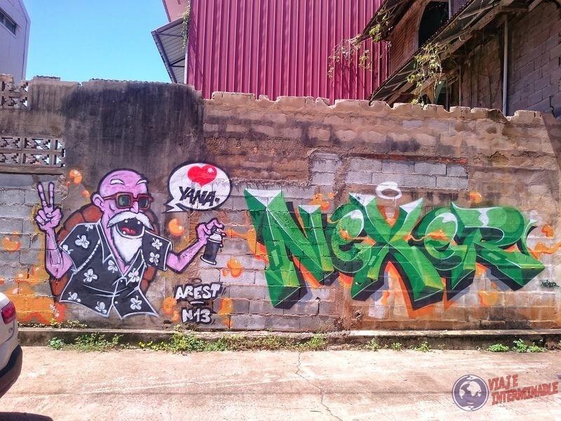 Graffiti en Cayenne Guayana Francesa