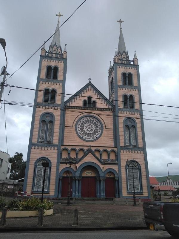 Iglesia en Paramaribo surinam