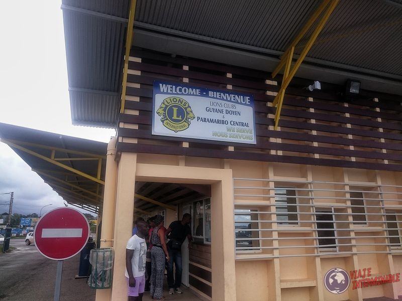 Llegada a Guayana Francesa Inmigracion