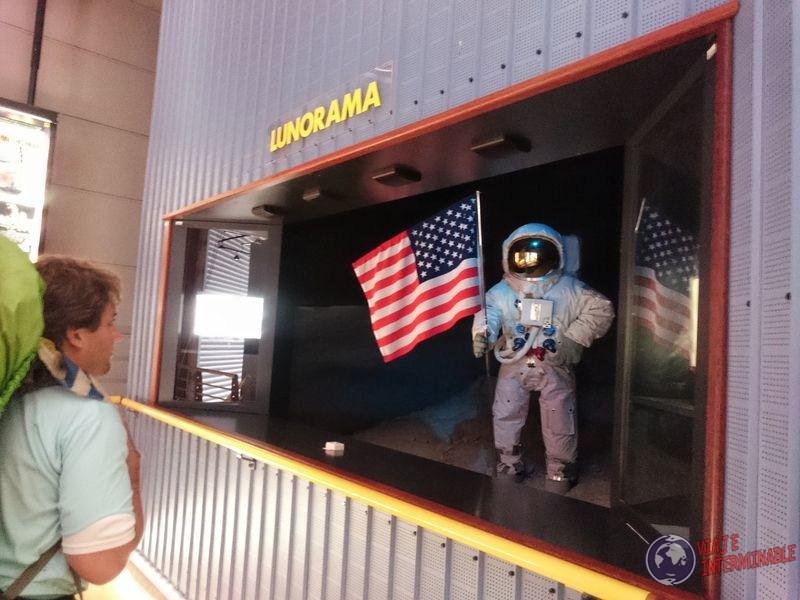Lunorama museo Centro espacial Kourou Guayana Francesa