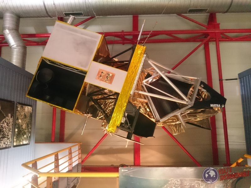 Maqueta de satelite guayana francesa