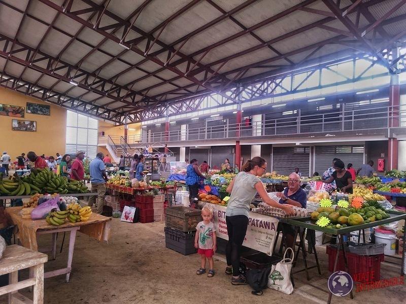 Mercado de Kourou Guyana Francesa