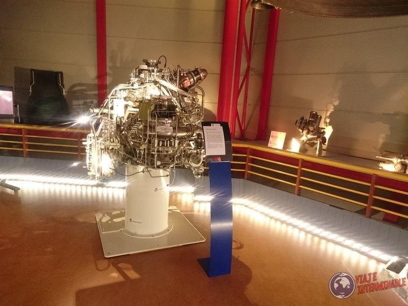 Motor nave espacial guayana francesa