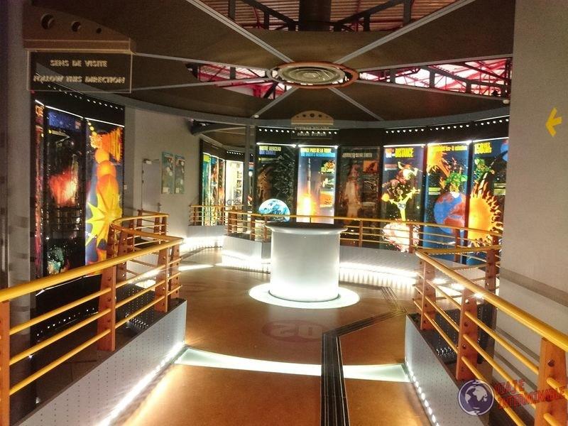 Museo por dentro Centro espacial Kourou Guayana Francesa