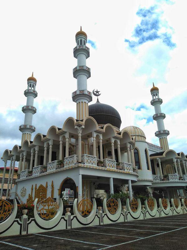 Mezquita en Paramaribo Surinam