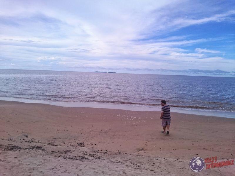 Playa de Kourou Guayana Francesa
