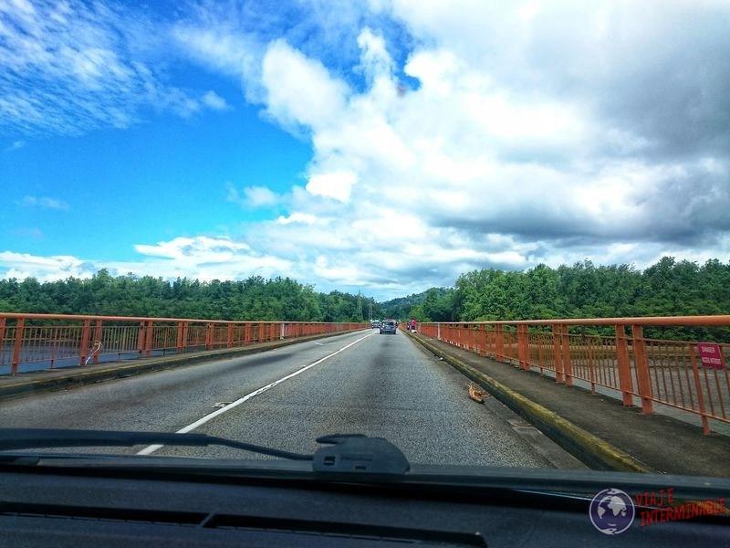 Puente para ir a Cayenne Guayana Francesa