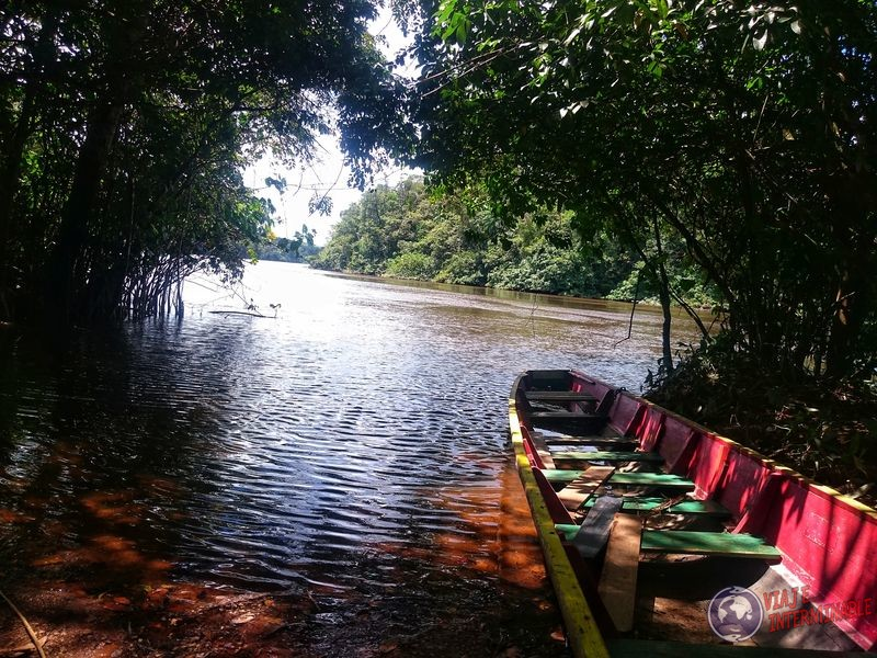 Río entre Kourou y Cayenne Guayana Francesa