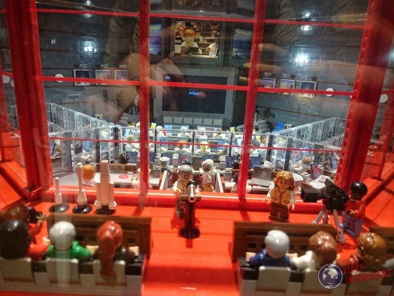 Sala control lego museo Centro espacial kourou Guayana Francesa