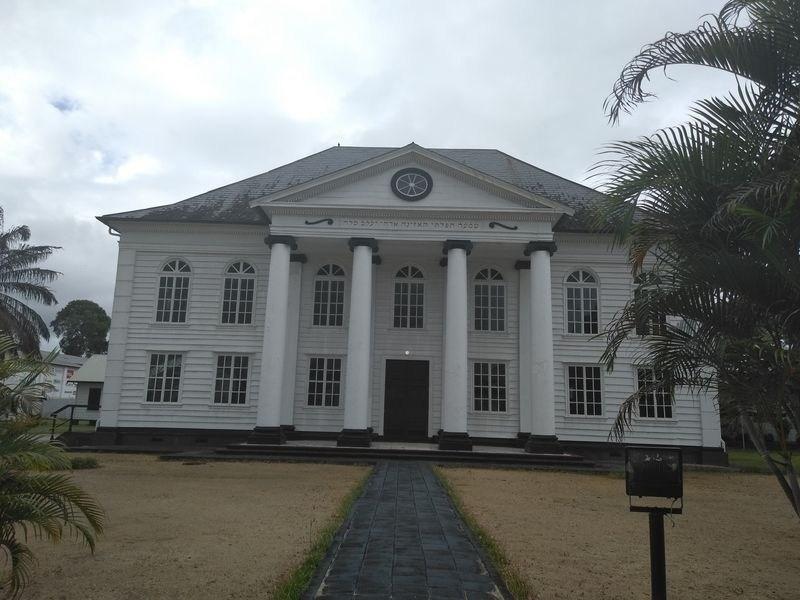 Sinagoga en Paramaribo surinam