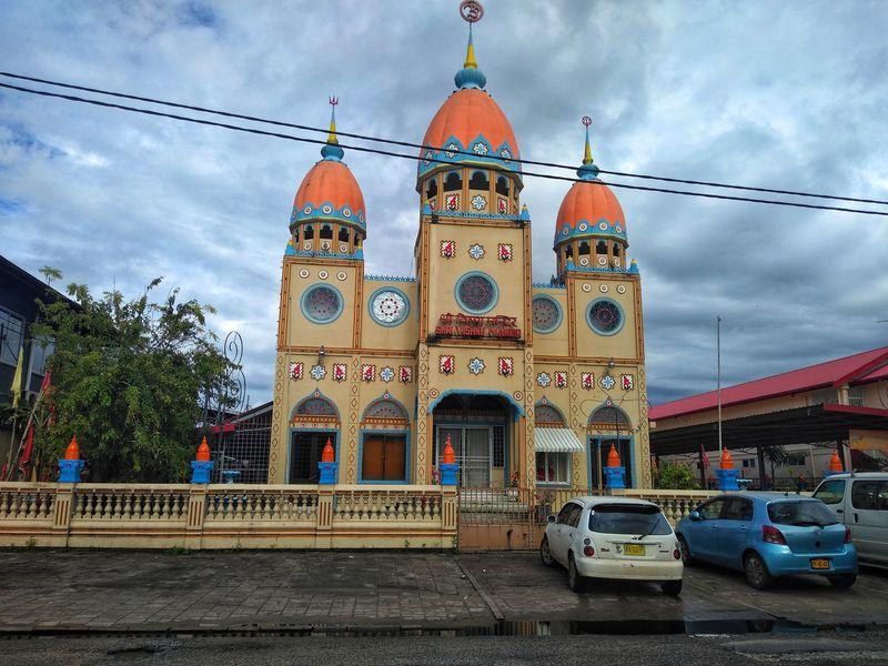 Templo Hindú en Paramaribo Surinam