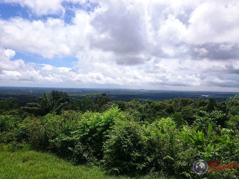 Vista desde montaña monos Kourou Guayana Francesa