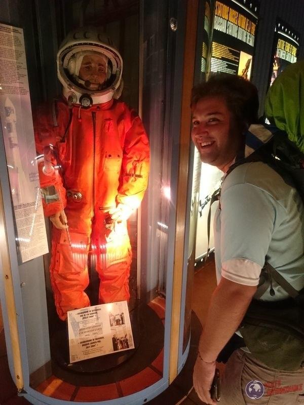 Yuri Gagarin en centro espacial Guayana Francesa
