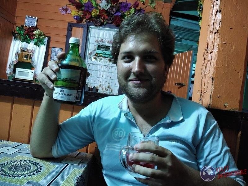 Banko wine vino Guyana corriverton