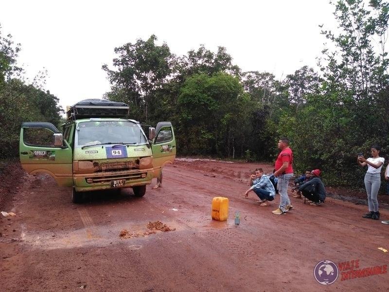 Bus hacia Lethem Guyana