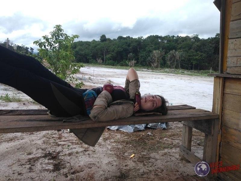 Dormida en Mabura Guyana