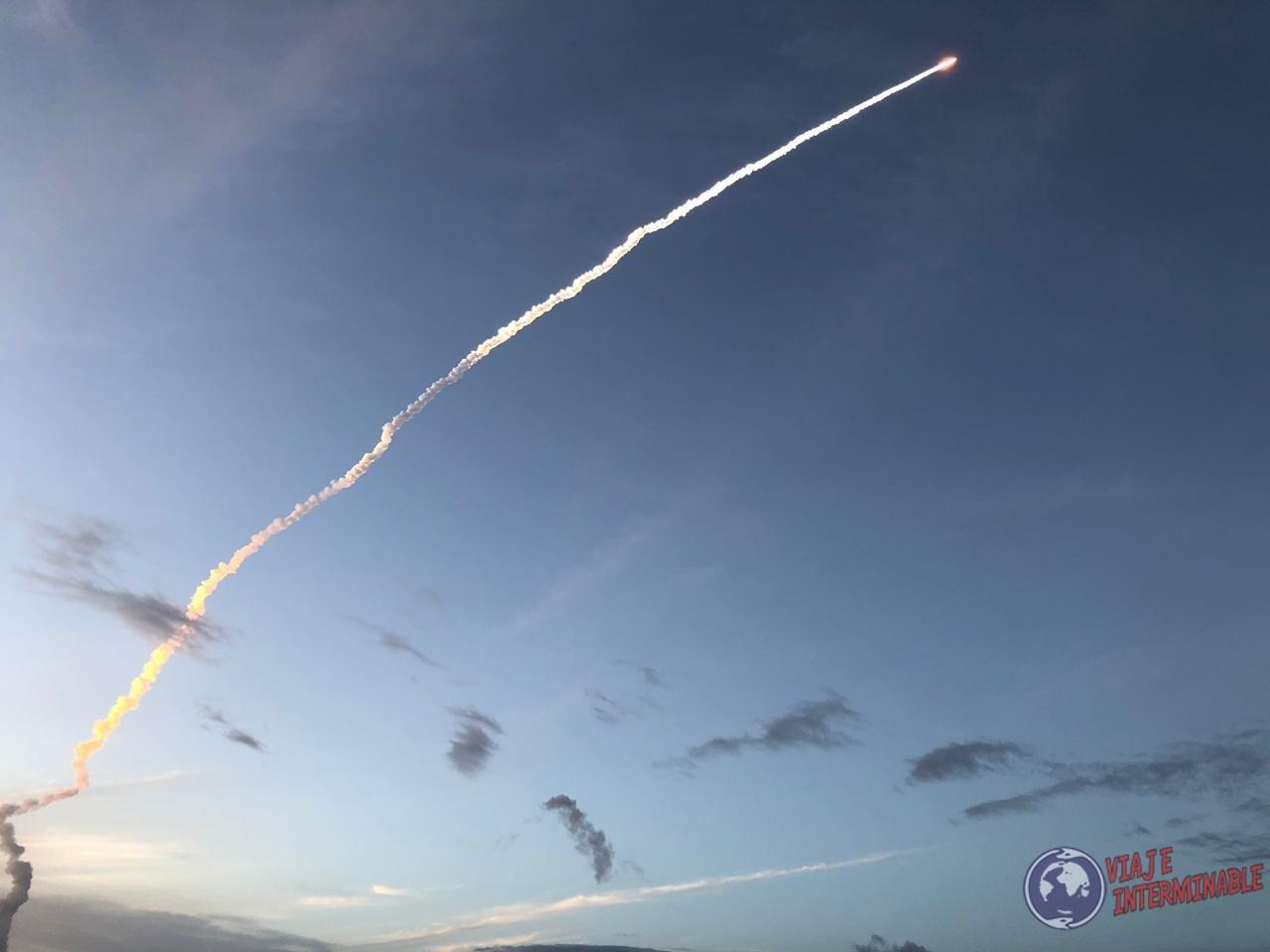 Lanzamiento Guayana Francesa Espacio Cohete