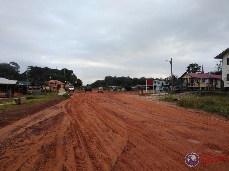 La ruta de Mabura Guyana